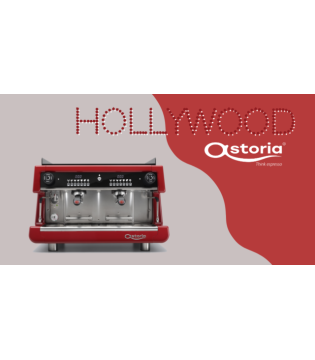 Astoria  Red Hollywood Espresso Coffee Machines 2Group