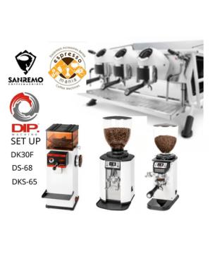 CAFE RACER SANREMO 3GROUP & SET UP DIP GRINDERS