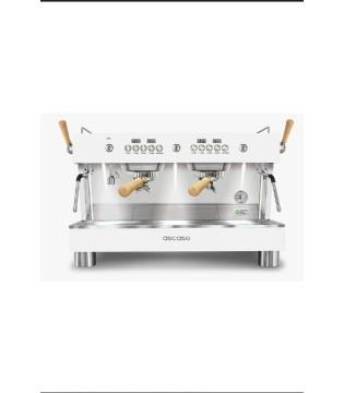 Μηχανή καφέ Ascaso Barista T Plus 2group White & Wood