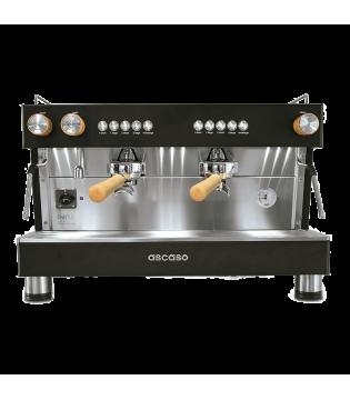 Μηχανή καφέ Ascaso Barista T Zero 2group Black & Wood Smart Boiler