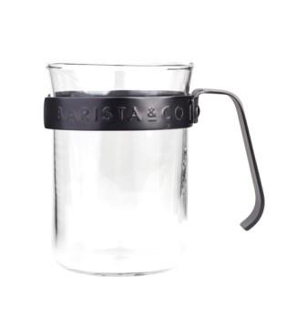 Barista & Co - Metal Framed Cups Gunmetal - Set of 2