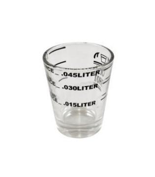 Δοσομετρικό ποτηράκι-1.5OZ ONE SHOT ESPRESSO GLASS