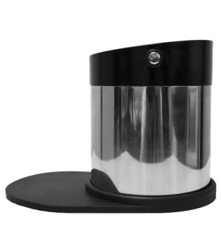 ESPRESSO GEAR KNOCKBOX STAINLESS STEEL WITH SILICONE MAT