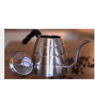 COFFEE GATOR POUR OVER KETTLE 1.2 LITRE   WITH THERMOMETER