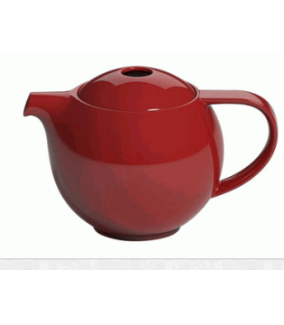 LOVERAMICS 0.6L TEAPOT WITH INFUSER - RED