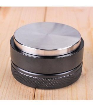 TAMPER  FLAT COFFEE EASY  BARISTA DELUXE  HIGH QUALITY STAINLESS STEEL 304  550 GRAM